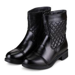 KL&VK冬季真皮羊毛女靴套组  货号120905